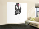 I love the way you take your clothes off Wall Mural – Large by Manuel Rebollo