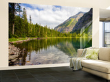 Avalanche Lake, Glacier National Park, Montana, USA Wall Mural – Large by Jamie & Judy Wild