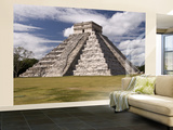 El Castillo, Pyramid of Kukulca Wall Mural – Large by Dennis Johnson