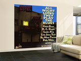 All Night Long They Play The Blues at the Galaxy Hotel Wall Mural – Large
