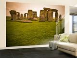 Prehistoric Ruins of Stonehenge Wall Mural – Large by Glenn Beanland