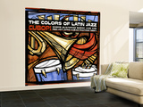 The Colors of Latin Jazz Cubop! Wall Mural – Large