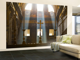 Crosses on Altar in St Peter's Basilica Wall Mural – Large by Richard l'Anson