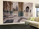 Al-Hassan II Mosque, Casablanca, Morocco Wall Mural – Large by William Sutton