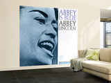 Abbey Lincoln - Abbey is Blue Wall Mural – Large