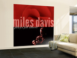 Miles Davis - Miles Davis Plays for Lovers Wall Mural  Large