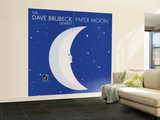 Dave Brubeck - Paper Moon Wall Mural – Large