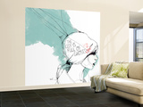 Ghosts Wall Mural – Large by Manuel Rebollo
