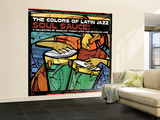 The Colors of Latin Jazz Soul Sauce! Wall Mural – Large