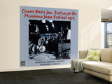 Count Basie - Count Basie Jam Session at the Montreux Jazz Festival 1975 Wall Mural – Large