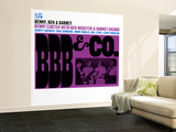BBB and Co. Wall Mural – Large
