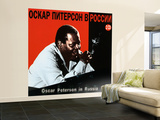 Oscar Peterson In Russia Wall Mural – Large