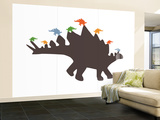 Spike Wall Mural – Large by  Avalisa