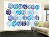 Blue Park Wall Mural – Large by  Avalisa
