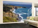 Big Sur Coastline in California, USA Wall Mural – Large by Chuck Haney