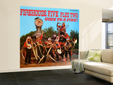 Firehouse Five Plus Two - Goes to a Fire! Wall Mural – Large