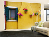 Colorful Burano City Homes, Italy Wall Mural – Large by Terry Eggers