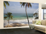 Playa Preciosa Beach, Abreu, North Coast, Dominican Republic Wall Mural  Large by Walter Bibikow