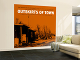Outskirts of Town Wall Mural – Large