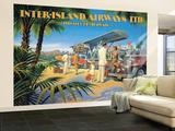 Inter-Island Airways Premium Wall Mural (Large)