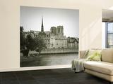 Notre Dame and Ile De La Cite, Paris, France Wall Mural – Large by Jon Arnold