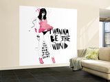 The Wind Wall Mural – Large by Manuel Rebollo