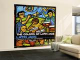 The Colors of Latin Jazz: Latin Jam! Wall Mural – Large