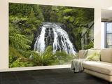 Owharoa Falls, Karangahake Gorge, Waikato, North Island, New Zealand Fototapete – groß von David Wall