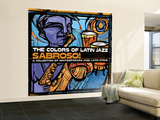 The Colors of Latin Jazz Sabroso! Wall Mural – Large