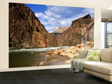 Looking Up River From Below Hance Rapid, Grand Canyon National Park, Arizona, USA Wall Mural – Large by Bernard Friel