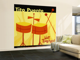 Tito Puente, Hot Timbales Wall Mural – Large