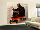 Thelonious Monk - Monk's Music Wall Mural – Large by Paul Bacon