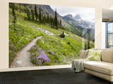 Highline Trail To Granite Park Chalet, Glacier National Park, Montana, USA Wall Mural – Large by Jamie & Judy Wild
