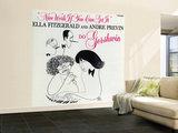 Ella Fitzgerald - Nice Work If You Can Get It Wall Mural – Large