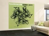 Sonny Stitt - Kaleidoscope Vægplakat, stor