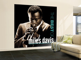Miles Davis All-Stars - The Best of Miles Davis Wall Mural  Large