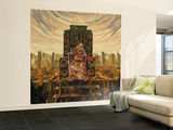 King Deluxe Wall Mural – Large by  HR-FM