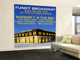 Funky Broadway Wall Mural – Large
