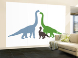Long Neck Wall Mural – Large by  Avalisa