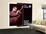 Dizzy Gillespie, Live at the 1965 Monterey Jazz Fest Wall Mural – Large