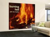 John Lee Hooker - Burning Hell Wall Mural – Large