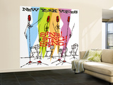 New York Voices - Sing! Sing! Sing! Wall Mural – Large