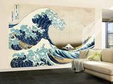 The Great Wave of Kanagawa , c.1829 Wall Mural – Large by Katsushika Hokusai