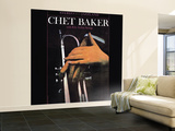 Chet Baker - With Fifty Italian Strings Wall Mural – Large