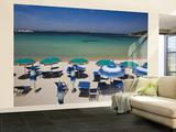 Resort Beach, Baja Sardinia, Sardinia, Italy Wall Mural – Large by Walter Bibikow