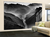 """The Yangtze River Passing Through the Wushan, or """"Magic Mountain"""", Gorge in Szechwan Province Wall Mural – Large by Dmitri Kessel"""