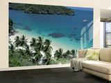View of Beach, Ko Samui Island, Thailand Wall Mural – Large by Nik Wheeler