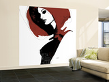 Little Red Wall Mural – Large by Manuel Rebollo