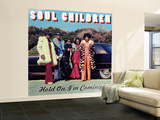 Soul Children - Hold On, I'm Coming Wall Mural – Large