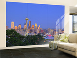 Skyline From Kerry Park, Seattle, Washington, USA Wall Mural – Large by Jamie & Judy Wild